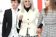 Diane Keaton Fitted Jacket