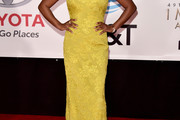 Samira Wiley Strapless Dress