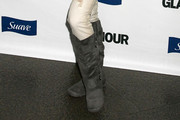 Alexis Arquette Knee High Boots