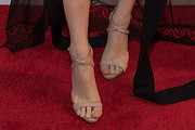 Barbara Palvin Strappy Sandals