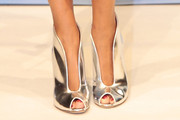 Sylvie Meis Peep Toe Pumps