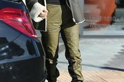 Kourtney Kardashian Sports Pants