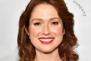 Ellie Kemper  Curled Out Bob
