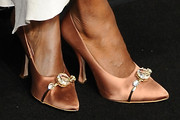 Shala Monroque Evening Pumps