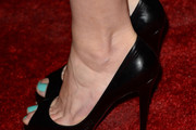 Aimee Teegarden Peep Toe Pumps