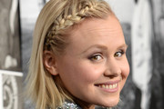 Alison Pill Braided Updo