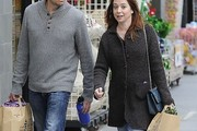 Alyson Hannigan Wool Coat