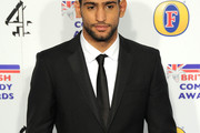 Amir Khan Narrow Solid Tie