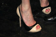 Amy Winehouse Peep Toe Pumps