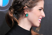 Anna Kendrick Long Partially Braided