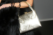 Linda Fargo Metallic Purse
