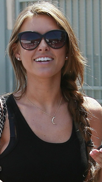 Audrina Patridge French Braid
