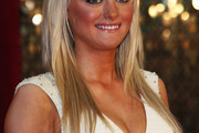 Katie McGlynn Long Straight Cut with Bangs