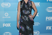January Jones Print Dress