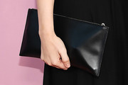 Ashley Olsen Leather Clutch