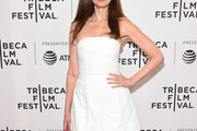 Carol Alt Strapless Dress