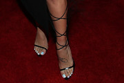 Sharna Burgess Lace-Up Heels