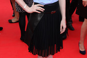 Bonnie Wright Knee Length Skirt