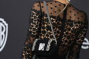 Sofia Boutella Chain Strap Bag