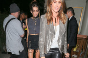 Cindy Crawford Sequined Jacket