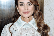 Queen Rania Long Wavy Cut