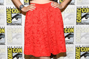 Katie McGrath Knee Length Skirt