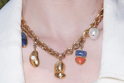 Whitney Port Gold Charm Necklace