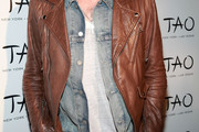 Caleb Followill Leather Jacket