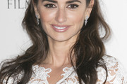 Penelope Cruz Half Up Half Down