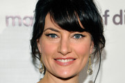 Madchen Amick Messy Updo