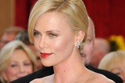 Charlize Theron Retro Updo