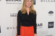Chelsea Clinton Shawl-Collar Sweater