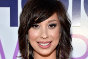 Cheryl Burke Medium Wavy Cut with Bangs