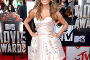 Chrissy Teigen Strapless Dress