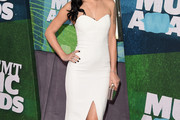 Rumer Willis Strapless Dress