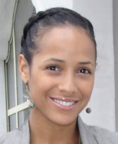 Dania Ramirez French Braid · Dania Ramirez