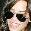 Demi Lovato Aviator Sunglasses