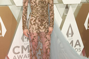 Carrie Underwood Sheer Dress