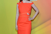 Debra Messing Cutout Dress