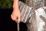 Jane Wu Metallic Clutch