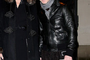Domenico Dolce Leather Jacket