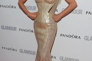 Donatella Versace Mermaid Gown
