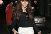 Jessica Biel Boatneck Sweater