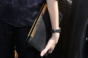 Gia Coppola Leather Clutch