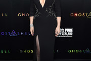 Juliette Binoche Form-Fitting Dress