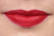 Lily Collins Red Lipstick