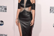 Kylie Jenner Leather Dress