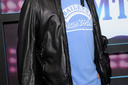 David Spade Leather Coat