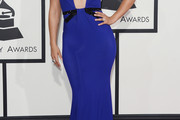 Alicia Keys Halter Dress