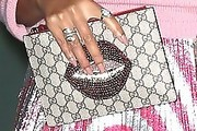 Beyonce Knowles Printed Clutch